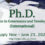 Announcement Year 2021 (1st Semester) Admissions to the Doctor of Philosophy Program in Governance and Development