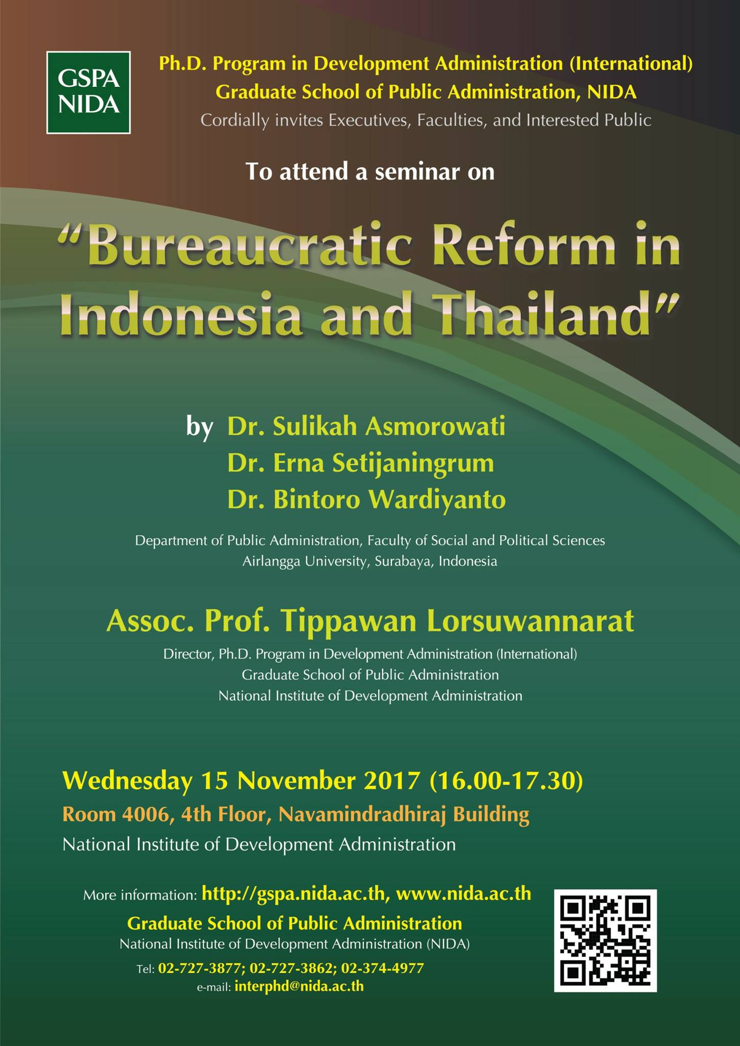 ureaucration reform indonesia and thailand 2017
